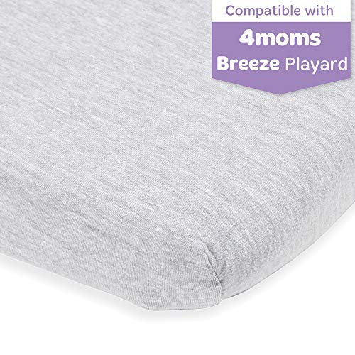 Purchase Pack and Play Sheet Fitted – Compatible with 4moms Playard, New Breeze Go, Classic and Pl...