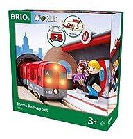 BRIO metro railway set メトロ 電車