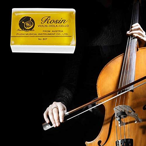 5 Piezas De Colofonia Natural Para Violín Viola Y Cello Colofonia Resina Natural De Arcos Bajos De Polvo Para Violín, Viola, Y Violonchelo