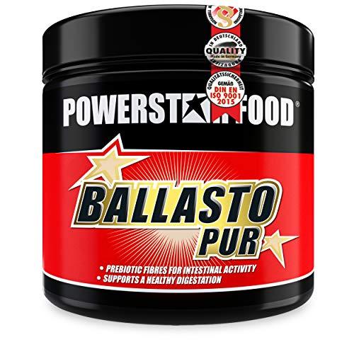 BALLASTO PUR | Prebiotisches Ballaststoff Pulver aus Inulin & Haferfasern | Zur gesunden Darmpflege & normalen Verdauung | Pharmaqualität | Vegan | Made in Germany | 300g