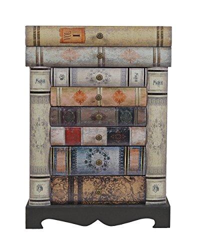 Buch  Nachttisch/Kommode im Vintage Look - 8