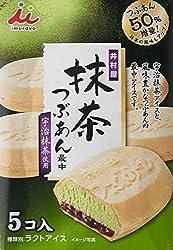 Imuraya Matcha Redbean Wafer Icecream (5Pcs)5 x 60ml, Red Bean, 300 ml