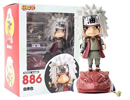 Nendoroid Figura Naruto Shippuden Jiraiya 886 10 cm Anime Figura de acción PVC Juguetes Figuras de colección