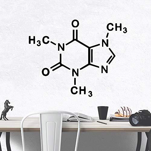 yaonuli Pegatinas de Pared de Dibujos Animados de química Pegatinas de Pared de Arte decoración del hogar de la habitación 28x35 cm