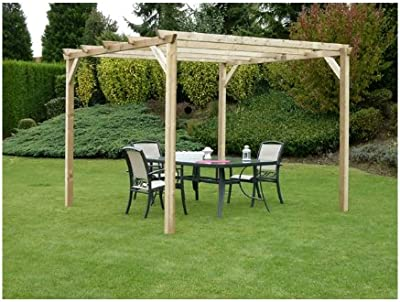 Forest M231556 - Pergola Madera ancolie 3 x 3: Amazon.es: Jardín