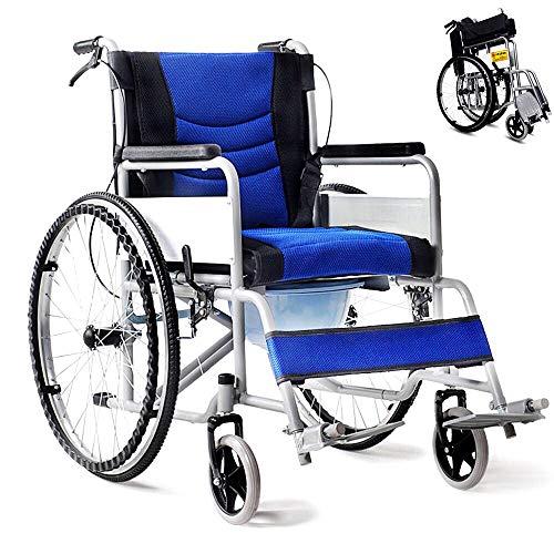 車椅子 軽量 折り畳み車いす 車イス ブレーキ ノーパンクタイヤ 車いす 介護用品 プレゼント 折りたたみ 自走用車いす 手押し 介助 軽い車椅子 コンパクト 便器付き お年寄り