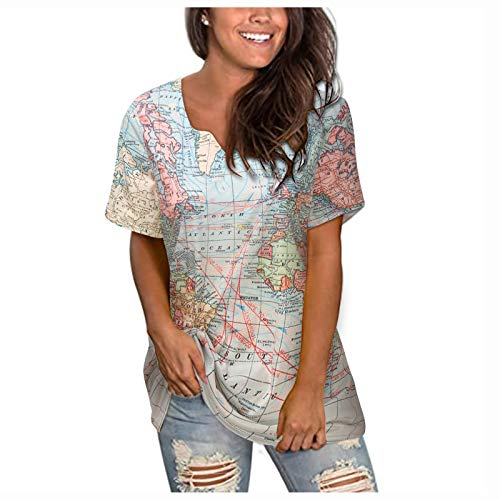 Patriotic t Shirts Women Fourth of July Womens Clothing Surfer Shirts for Girls t Shirt for Birthday Gifts for Tops Eggs Crop Tops Women Tops and Blouses O M