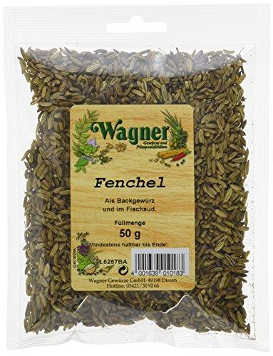 Wagner Gewürze Fenchel (1 x 50 g)