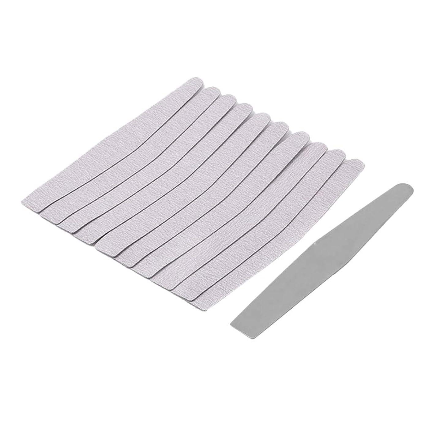 先のことを考える泥バラ色ネイルケア ネイルファイル 爪やすり ネイルバッファー 爪磨き ネイル道具 全5選択 - 02
