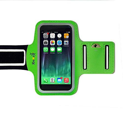 KHOMO APP-IPH-6S-ARMBAND-GRN-ES Funda para teléfono móvil 11,9 cm (4.7') Brazalete Caso Verde - Fundas para teléfono móvil (Brazalete Caso, Apple, iPhone 6/6s, 11,9 cm (4.7'), Verde)