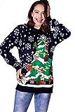 Geschmückter Tannenbaum Sweater