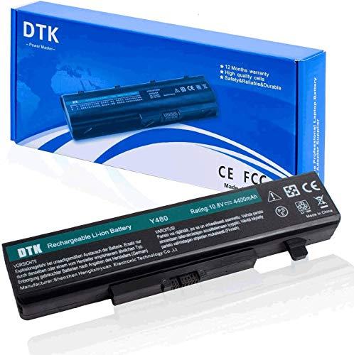DTK® Batería para Ordenador Portátil Lenovo Y480 Y480A Y485 Y580 Y585 G480 G485 G580 G585 Z380 Z480 Z580 Z585 (11.1v 4400mah) batería del Cuaderno