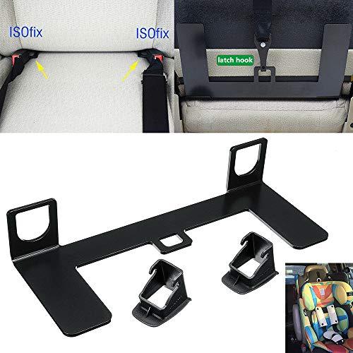 M&H - Pasador Universal ISOFIX para cinturón de Seguridad de Coche, Soporte de guía para Asiento de Seguridad para niños en SUV Compacto y Hatchback