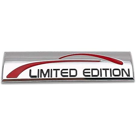 laptop 9 x 2,4 cm bici Carefleection 3D Car Limited Edition Silver Badge Emblema adesivo per tutte le auto SUV