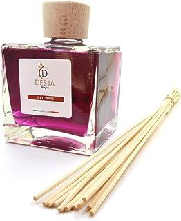 Profumatore ambiente completo di bastoncini 500 ml Profumazione Red Wine Vino diffusore profumo confezione inclusa