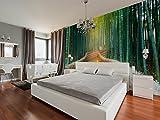 Fotomural Vinilo Pared Zen Bosque Bambú | Fotomurales Pared | Fotomural Decorativo | Vinilo Decorativo | Varias Medidas 100 x 70 cm | Decoración de comedores, Salones | Multicolor | Diseño Elegante