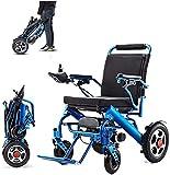 YXYNB Porte-Bagages Pliable léger, Roue Durable, sûr et Facile à Conduire pour Plus de Confort, Bleu, Bleu