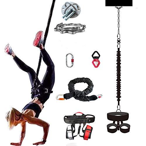 HUIHUAN Professionelle schwere Yoga-Bungee-Fitnessgeräte, Neue Qualität, sicher und zuverlässig und langlebig, geeignet für den Heim-Fitnessraum