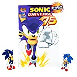 Sonic Collector Series 2 Figure Pack with Classic and Modern and Comic Book