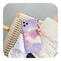 Rainbow Gradient Aurora Phone Cases for iPhone 12 11 Pro Max 12 Mini X XR XS Max 7 8 Plus SE 2020 Soft Silicone Back Cover Coque-4-for iPhone 11