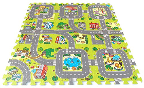 Brigamo Stadt Puzzlematte Bild