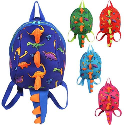 vobome Dinosaurier Kleinkind Mini Rucksack Anti-Lost Kinder Rucksack Schulranzen