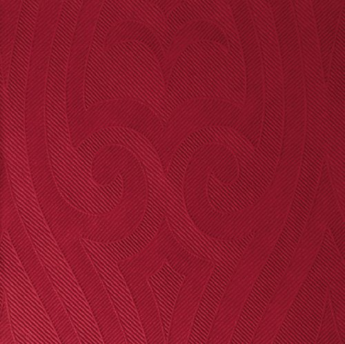 Duni Elegance-Servietten Lily 40er bordeaux, 40 x 40 cm