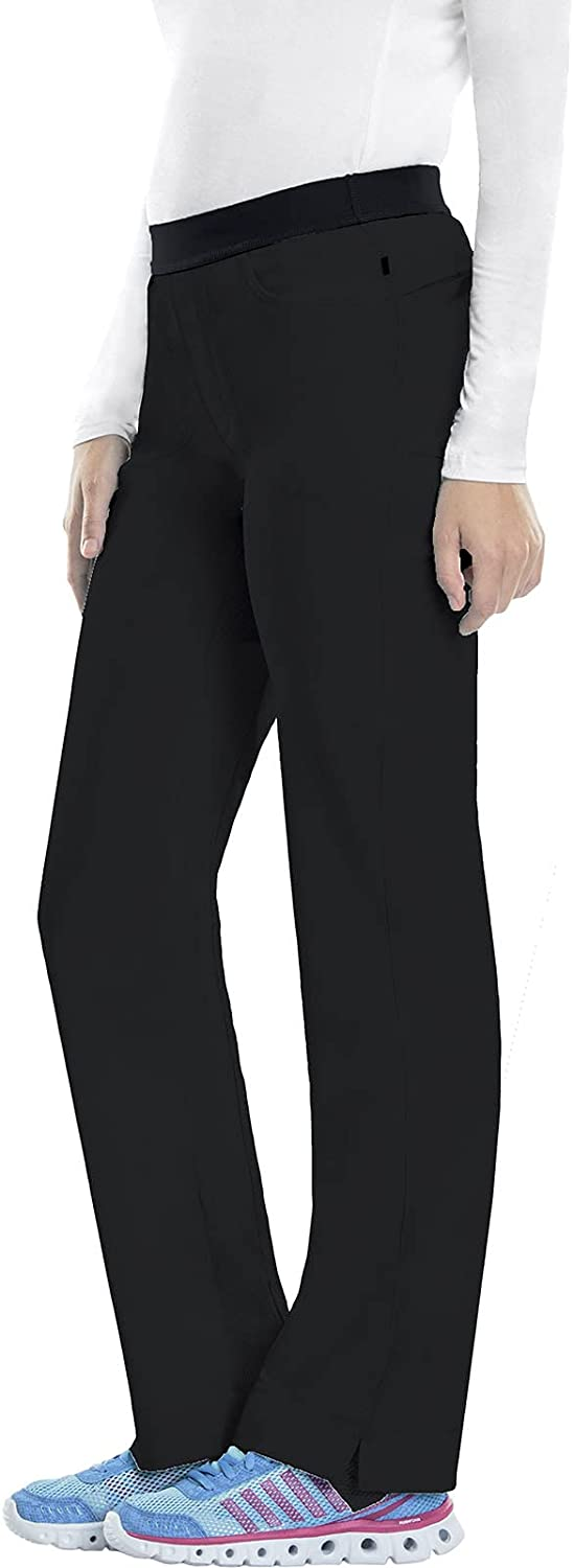 Colorado Springs Mall Cherokee Women's Petite Infinity Max 64% OFF Slim Pant Pull-On Low-Rise