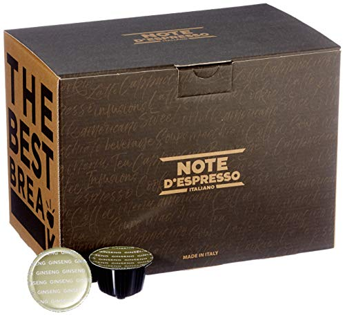 Note D'Espresso Ginseng Instantkapseln,ausschließlich Kompatibel mit Nescafé* und Dolce Gusto* Kapselmaschinen 8,5g x 48 Kapseln