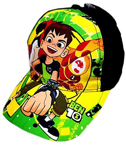 Ben10 Kappe für Kinder Baseball Jungen Sommer Hut Cap (52, Schwarz)