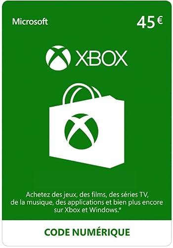 Crédit Xbox Live de 45 EUR [Code Digital - Xbox Live]