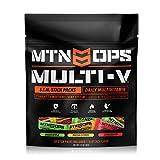 MTN OPS Multi-V Men's & Women's Daily Multivitamin - 30 Servings Trail Packs (1015-STM)
