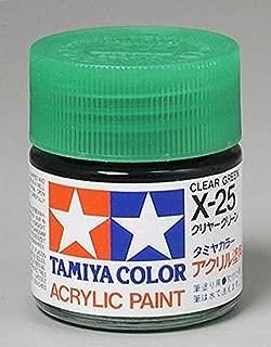 Tamiya Acrylic X25 Gloss,Clear Green