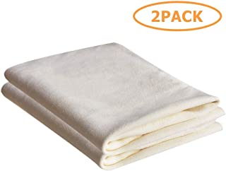SOMNIA Premium Multifunctional Cleaning Drying Towel Cloth for Cars, Screens, Lenses, Glasses, Synthetic Microfiber Towel Chamois Cloth, Non Lint , High Absorptive, Soft, Durable, 14X20In, 2 Pack
