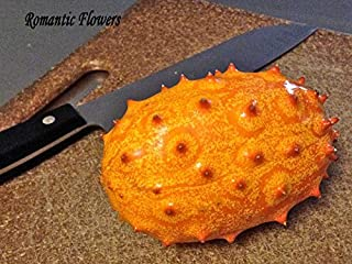 50 Particle/bag Rare Delicious Organic Kiwano Melano Cucumis Metuliferus African Horned Cucumber Fruit Melon Seeds