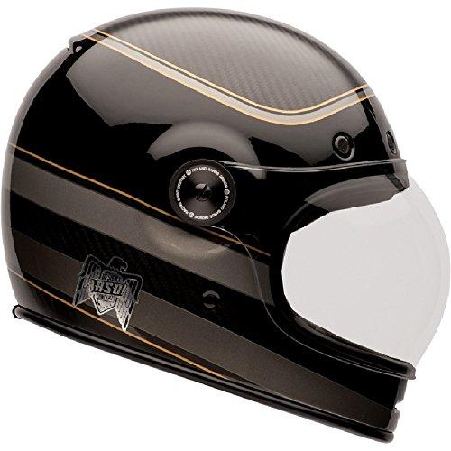 Bell Casco Bullitt Carbonio Rsd Bagger, Nero, Taglia XL