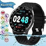Smart Watch,Fitness Tracker Watch with Heart Rate Blood Pressure Monitor IP67 Waterproof Bluetooth Smartwatch Sports...