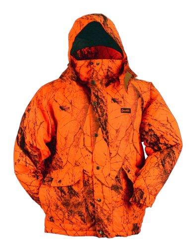 Gamehide Deerhunter Blaze Orange Camo Parka (Naked North Blaze Orange Camo, Large)