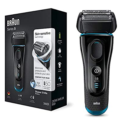 Braun Shaver for Men From Series 5 5140S Wet & Dry by Procter & Gamble