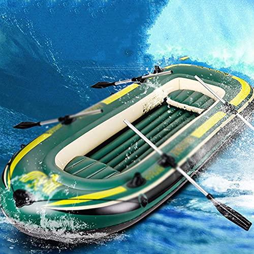 PZJ-Schlauchboot, PVC 3 Personen Schlauchboot Schlauchboot Fischerboot für Wassersport Schwimmen Strand Pool Angeln Treiben Tauchen