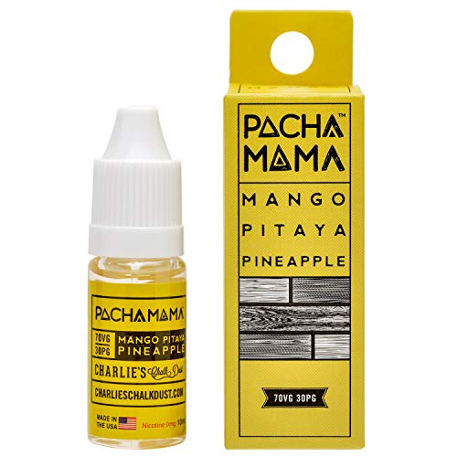 Charlie's Chalk Dust(チャーリーズチョークダスト) ベイプ リキッド パチャママ マンゴー ドラゴンフルーツ パイナップル ミックス フレーバー ニコチンなし 10ml