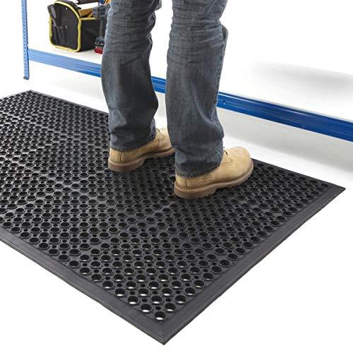 Ark Rubber and Resin Ltd Gummi Arbeitsplatz Matte Innen 0,9/x 1,5/m Fatigue Heavy Duty Mats Factory Workshop