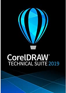 CorelDRAW Technical Suite 2019 - Technical Illustration & Drafting Software [PC Download] [Old Version]