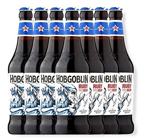 6 Flaschen Wychwood Hobgoblin Beer 0,5 l Ale aus England Bier inkl. 3 EUR Pfand