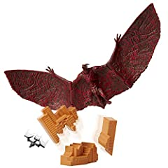 Godzilla King of the Monsters: Recreate epic monster battles with these ancient superspecies! This monster figure is six inches tall and has up to 5 points of articulation Includes a destructible building and aircraft accessory Bring the action of th...