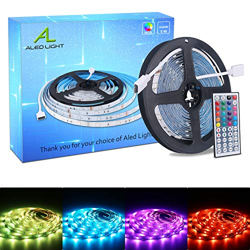 ALED LIGHT Tiras LED 5050 RGB 5m de Longitud 150 LED Multico