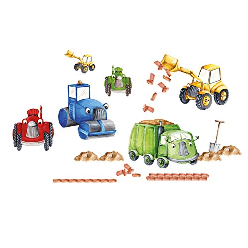Eurographics Deco Sticker / Wandtattoo DS-LIF1032 Tractors und Trucks