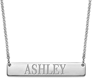 Best mens personalized bar necklace Reviews