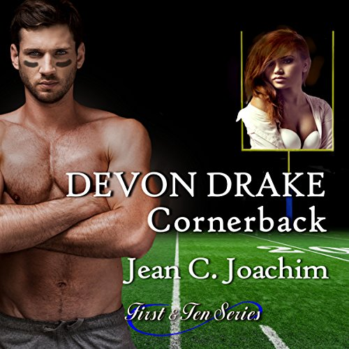 Devon Drake, Cornerback audiobook cover art