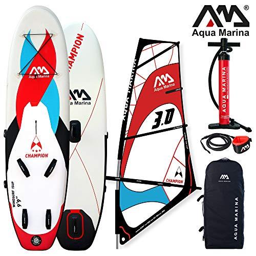 Aqua Marina 05.409.00 Windsurf ISUP AQUAMARINA Champion, Multicolor, L 125 x H 25.5 x W 43.5 cm